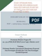 Standar Operasional Manajemen (SDM) KJKS