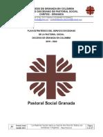 Plan Estrategico de la Pastoral Social Granada.doc