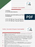 Portfolio - Programa Conectar Igualdad