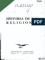 Historia de las religiones - Max Müller (V).pdf