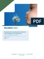 DEFRA Efw Emissions Report