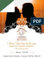 Invitación Betania