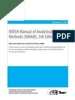 SI 3 NIOSH Manual of Analytical Methods 5th edition CMP.pdf
