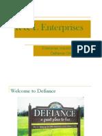 Enterprise Industrial Park Key Info
