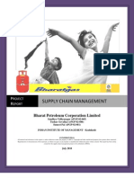 Supply Chain Project Report BPCL