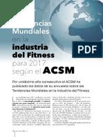 tendencias del fitnnes y entrenamiento 2017