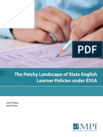 ESSA and English-Language Learners