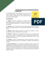 ÉTICA LABORAL CENTRO DE PRÁCTICAS