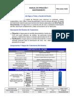 Manual de operación y mantenimiento_14X52 for 3 way filter