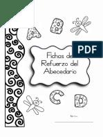 Fichas de Refuerzo Abecedario