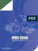 Bomba Centrifuga Multietapas Horizontal Altamira Serie Scala
