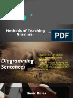 Methods of Teaching Grammar