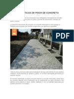caracteristicasde concreto estampado