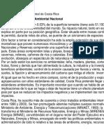 Derecho ambiental de Costa Rica