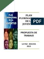 BORRADOR PLAN DE JUVENTUDES 2013 - DOCUMENTO BASE - version pdf