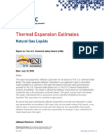 Thermal Expansion Calculations