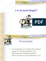 TOXICOLOGIA (generalidades)