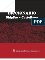 Diccionario Shipobo-castellano