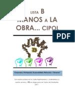 Manos a La OBRA... Programa de CC.ee CIPOL. 2011