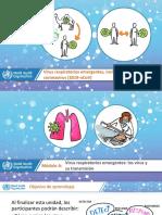 Módulo A - Virus respiratorios emergentes los virus y su transmisión