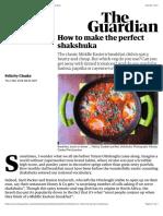 How to make the perfect shakshuka | Food | The Guardian