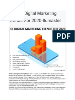 Top 10 Digital Marketing Trends for 2020