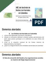 ABC del litigio departamental en Colombia