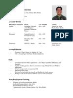 SILVESTRE-Resume
