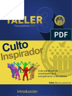 5. CULTO INSPIRADOR