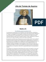 La filosofía de Tomás de Aquino
