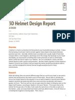 helmet report