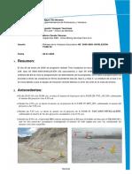 Informe de Retraso de Voladura 20-01-20