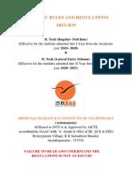 Academic Regulations_Autonomous_SRIT R19_Batch 2019-23