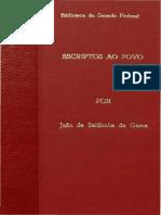 Gama, João de Saldanha da. Escriptos ao povo