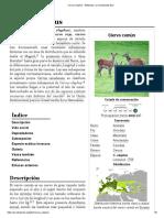 Cervus elaphus - Wikipedia, la enciclopedia libre