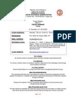 syllabus - thesis seminar 2020