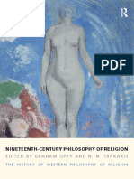 Graham Oppy, N. N. Trakakis - Nineteenth-Century Philosophy of Religion_ The History of Western Philosophy of Religion, Volume 4-Routledge (2014)