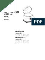 CENTRIFUGA IEC MEDISPIN MANUAL INSTRUCCIONES Y SERVICIO
