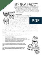 oedipus rex mask project edit