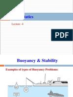 Lecture 4 Fluid Statics