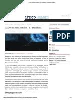 A Arte da Seita Política – 2 – Dinâmica – Ceticismo Político.pdf