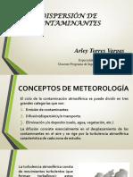 7. Dispersion de Contaminantes - copia.pptx