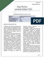Hoja Técnica F150