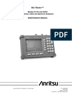 Anritsu S332C Maintenaince Manual