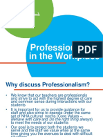 Professionalism in the Workplace 2020