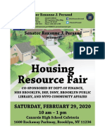 Sen. Persaud's Housing Resource Fair