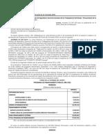 DOF - Diario Oficial de la Federación Fovissste 2020. CResitos