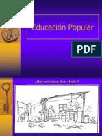 Clase Educ Popular_UNAB 2011