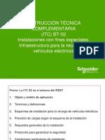 INSTRUCCIÓN TÉCNICA COMPLEMENTARIA (ITC) BT-52 Instalaciones con fines especiales. Infraestructura para la recarga de vehículos eléctricos.pdf