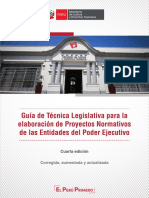 Guia de Tecnica Legislativa 4ta Edicion